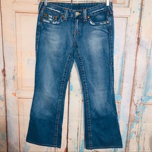 True Religion Blue Jeans Bobby Size 29